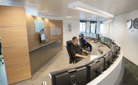 Gas de France Suez - On-shore Control Centre for Off Shore Gas Production