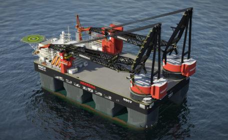 Sleipnir - Submersible crane vessel